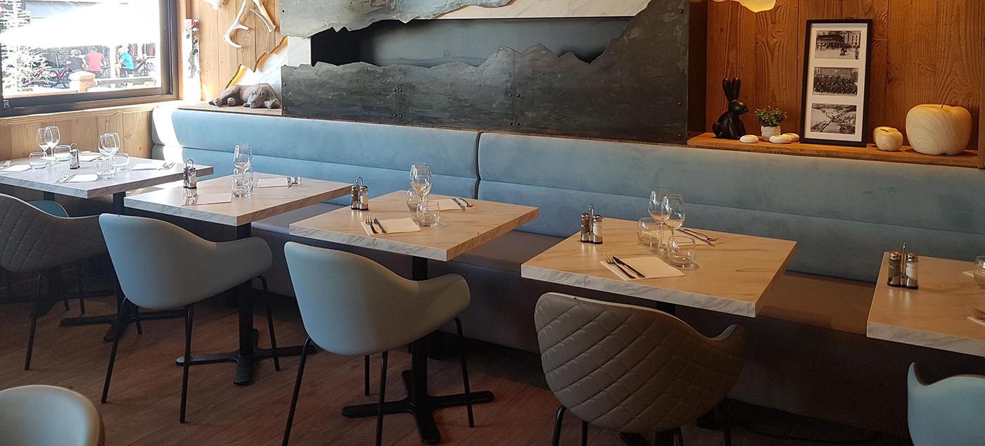 Banquette pour Restaurant, Hotel et Café | Ligne Mob, mobilier pour professionnels
